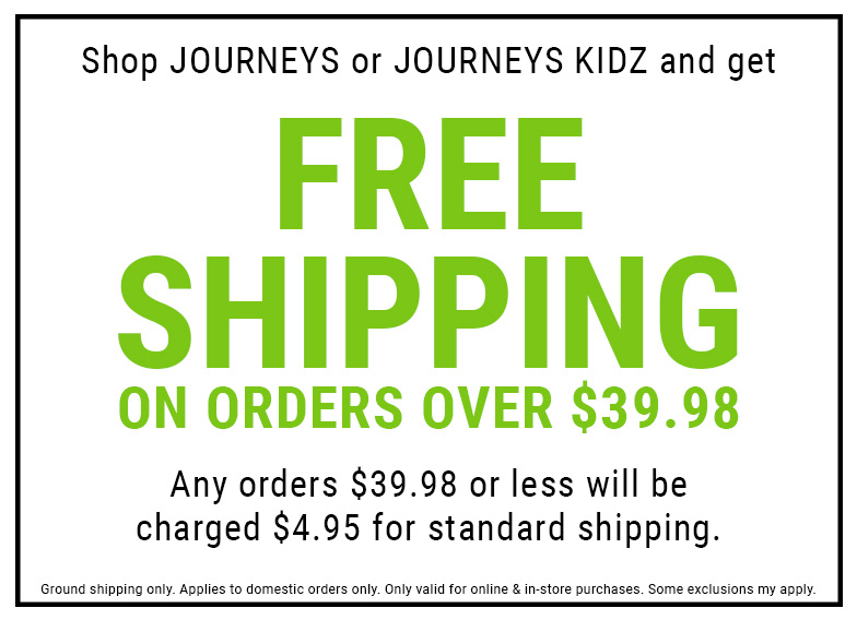 The Latest Promotions and Sales | Journeys