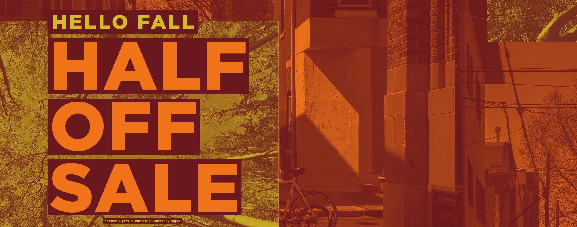 shop the fall sale