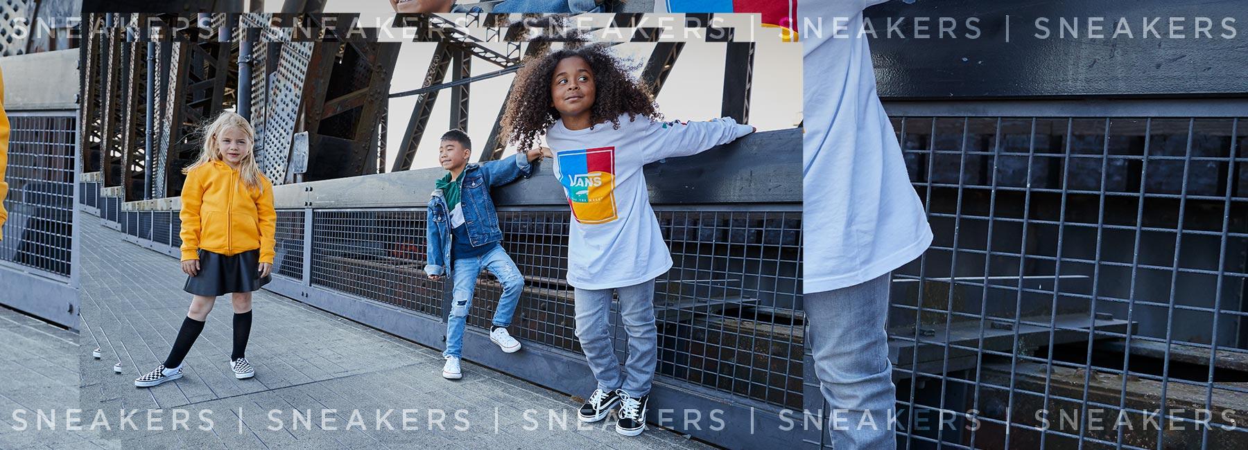 Shop sneakers from your favorite brands at Journeys Kidz
