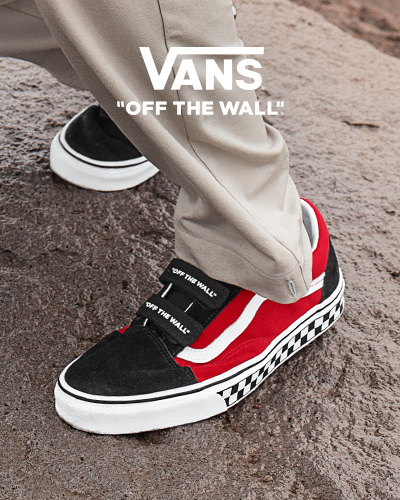 2vans off the wall mujer