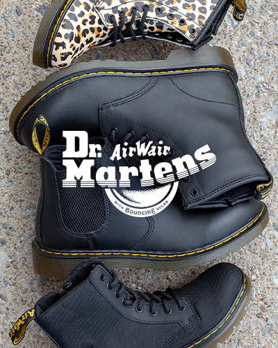 Shop Dr. Martens boots and shoes at Journeys Kidz