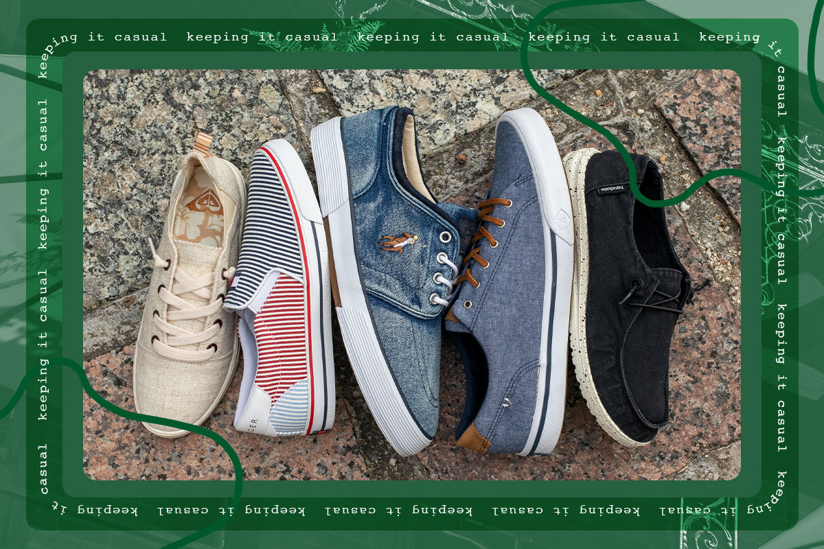Shop casual shoes from your favorite brands