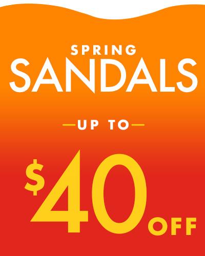 Shop the sandal sale