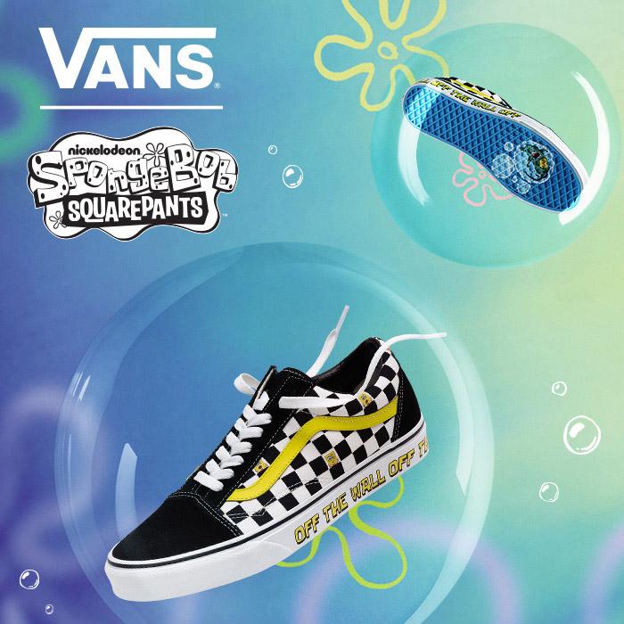 Vans and Nickelodeon's SpongeBob SquarePants team up for a F.U.N. collaboration