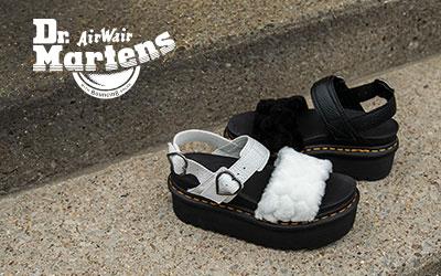NEW IN: Dr. Martens Voss Fluffy Quad Sandals BLOG