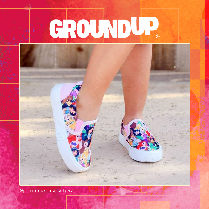 Ground Up Disney Shoes