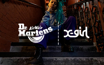 Read about the X-girl x Dr. Martens Colab