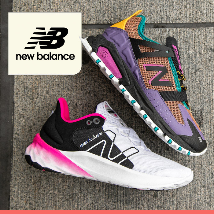 shop New Balance athletic shoes and sneakers