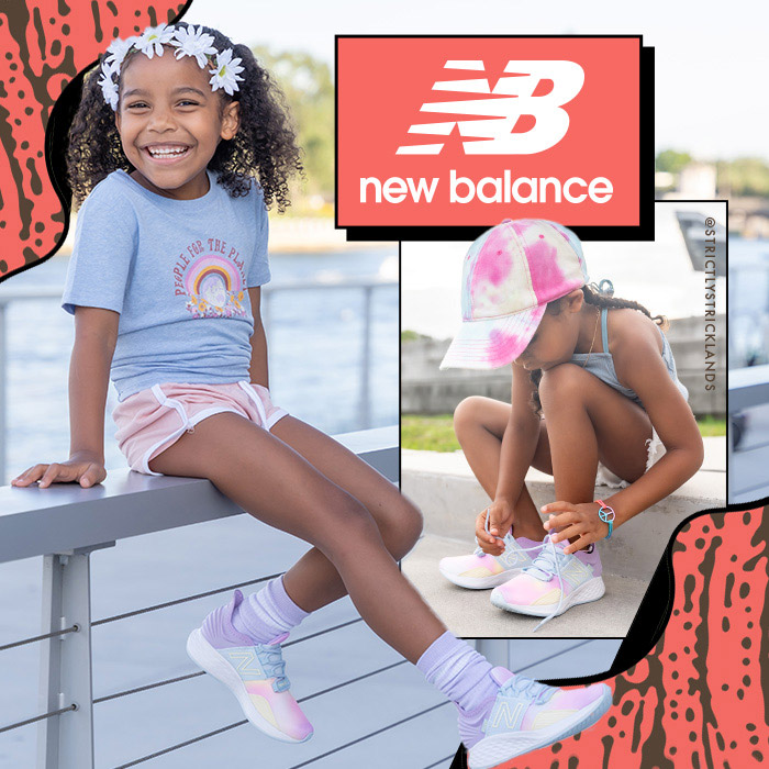 shop New Balance athletic shoes and sneakers for kids