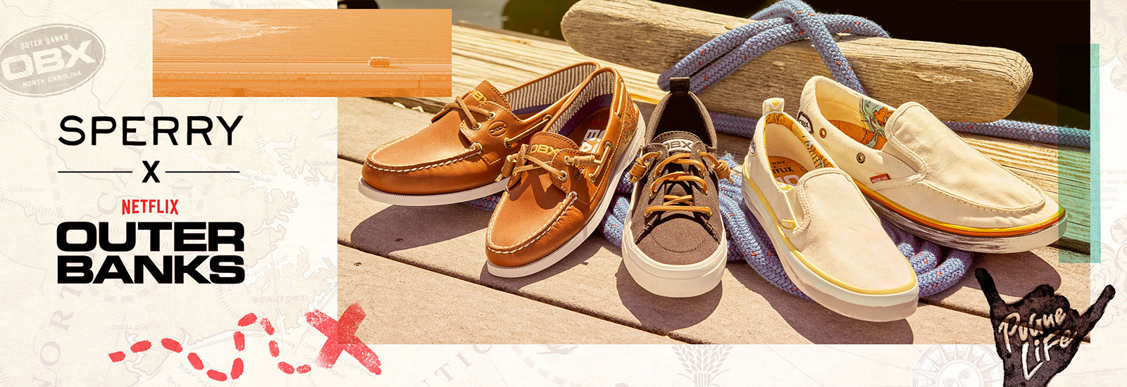 Sperry x Outer Banks Collection