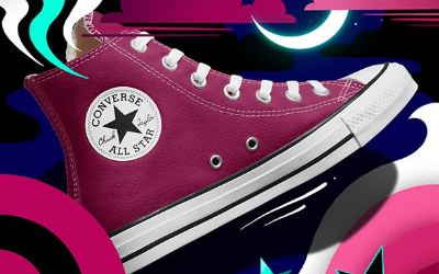 INTRODUCING: Midnight Hibiscus Converse