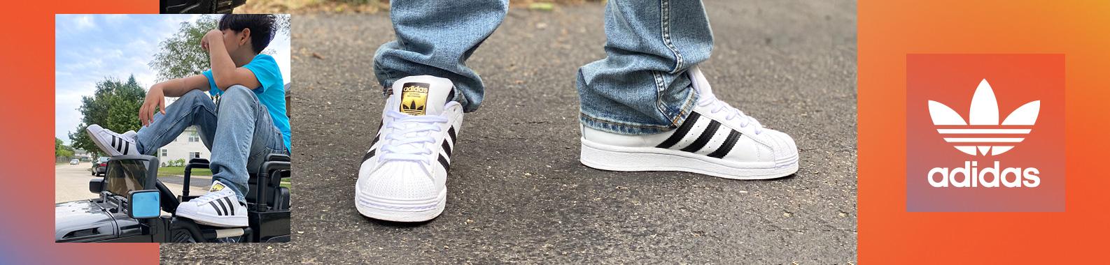 adidas brand header image