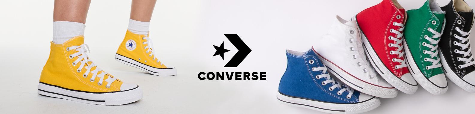 Converse brand header image