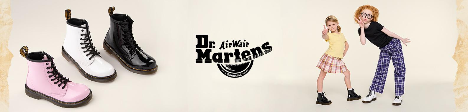 Dr. Martens brand header image