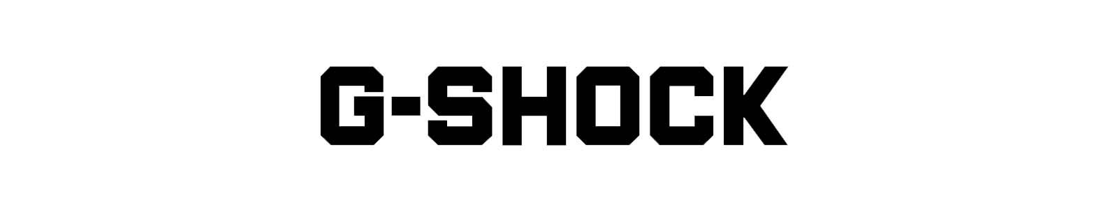 G-Shock brand header image
