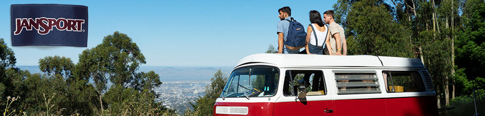 JanSport brand header image