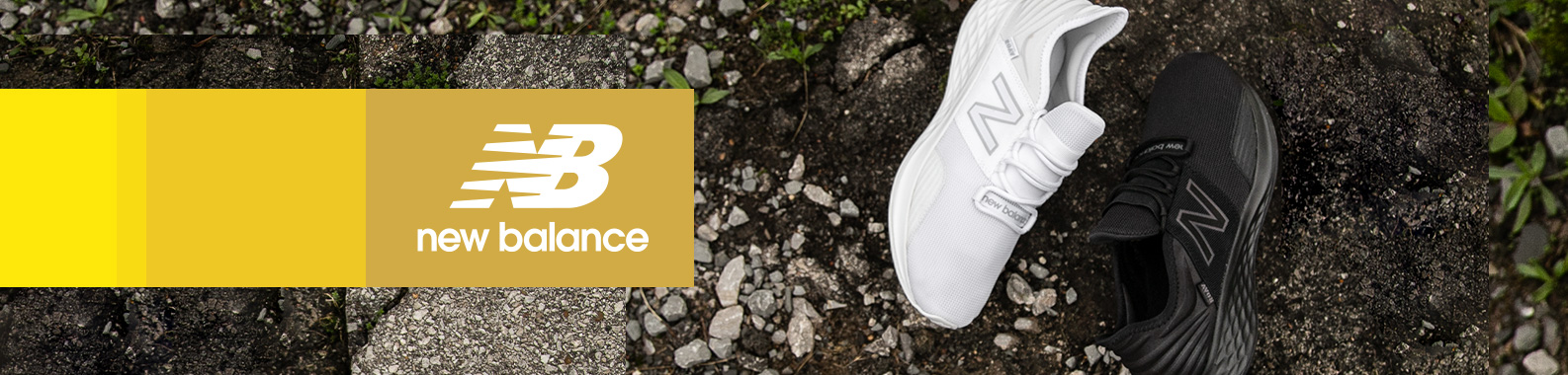 New Balance brand header image