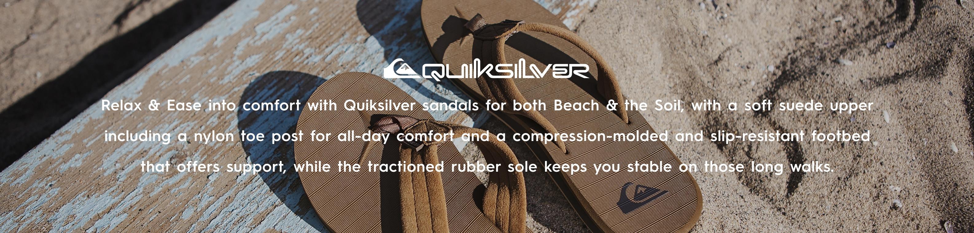 Quiksilver brand header image