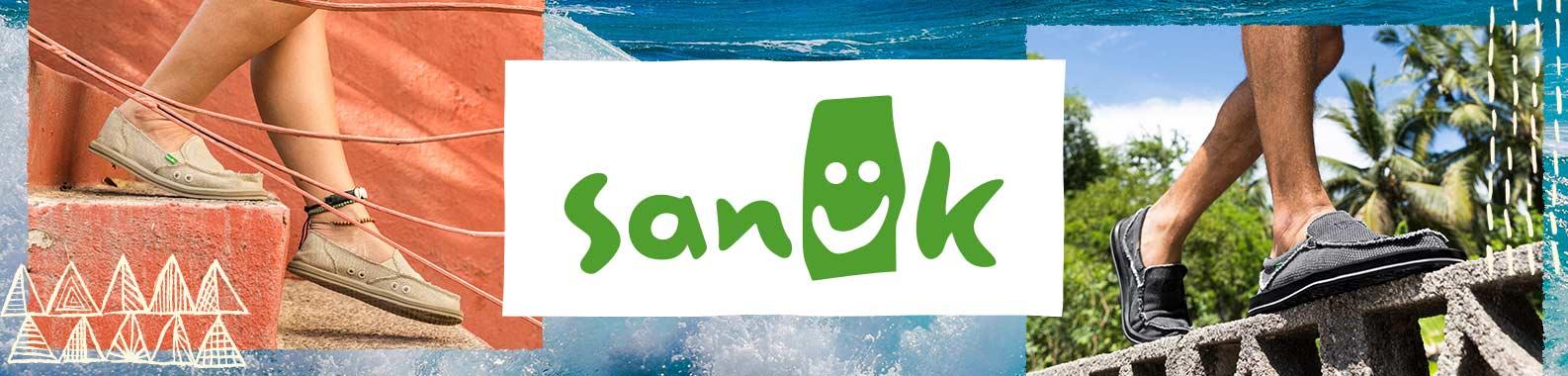 Sanuk header image