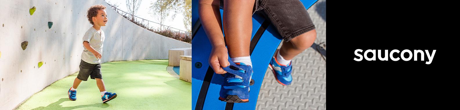 Saucony brand header image