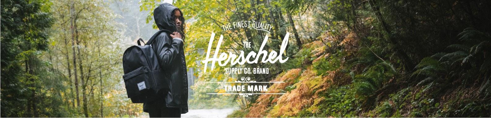 Herschel Supply Co. brand header image