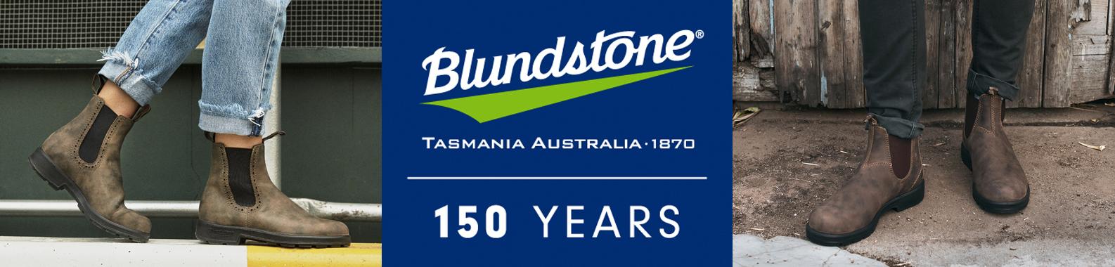 Blundstone brand header image