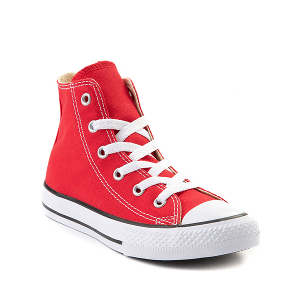 alternate view Converse Chuck Taylor All Star Hi Sneaker - Little Kid - RedALT5