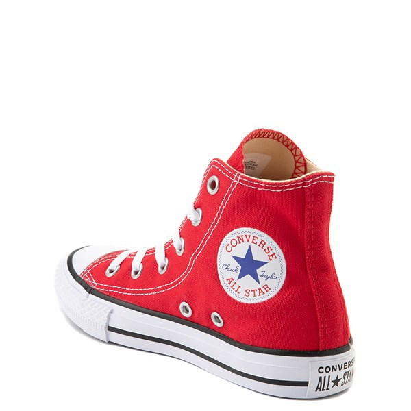 alternate view Converse Chuck Taylor All Star Hi Sneaker - Little Kid - RedALT2