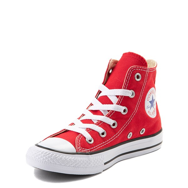 alternate view Converse Chuck Taylor All Star Hi Sneaker - Little Kid - RedALT3