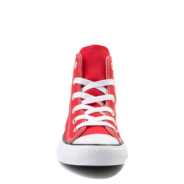 alternate view Converse Chuck Taylor All Star Hi Sneaker - Little Kid - RedALT4