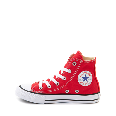 Alternate view of Converse Chuck Taylor All Star Hi Sneaker - Little Kid - Red
