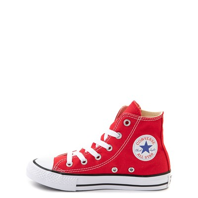 Alternate view of Youth Red Converse Chuck Taylor All Star Hi Sneaker