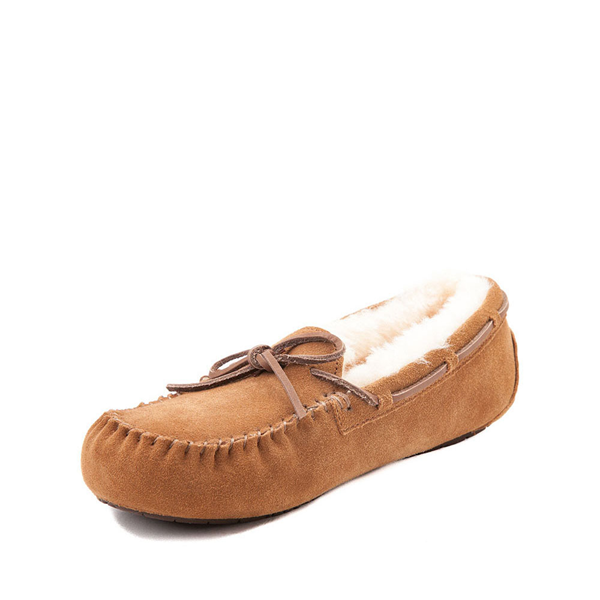 alternate view UGG® Dakota Slipper - Little Kid / Big Kid - ChestnutALT2