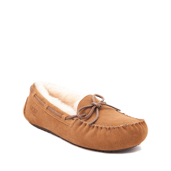 alternate view UGG® Dakota Slipper - Little Kid / Big Kid - ChestnutALT5