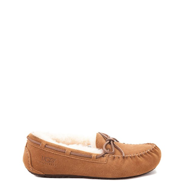Main view of UGG® Dakota Slipper - Little Kid / Big Kid - Chestnut