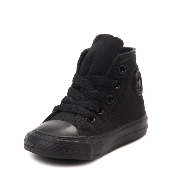 alternate view Converse Chuck Taylor All Star Hi Mono Sneaker - Baby / Toddler - BlackALT3