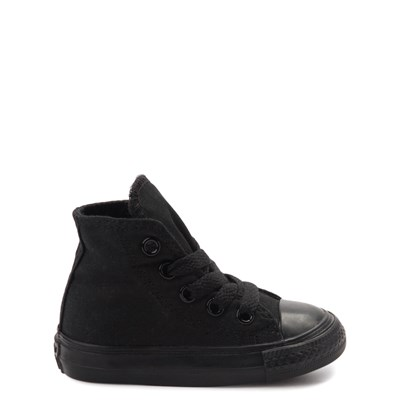 Main view of Converse Chuck Taylor All Star Hi Mono Sneaker - Baby / Toddler - Black