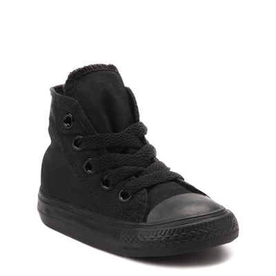 Alternate view of Converse Chuck Taylor All Star Hi Mono Sneaker - Baby / Toddler - Black
