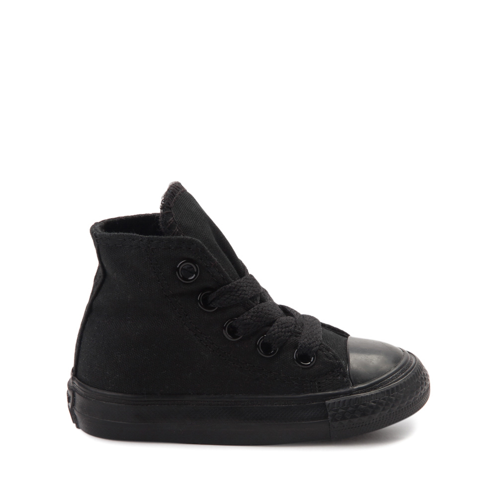 Converse Chuck Taylor All Star Hi Sneaker - Baby / Toddler - Black Monochrome
