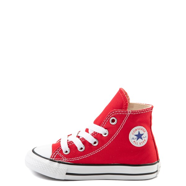 alternate view Converse Chuck Taylor All Star Hi Sneaker - Baby / Toddler - RedALT1