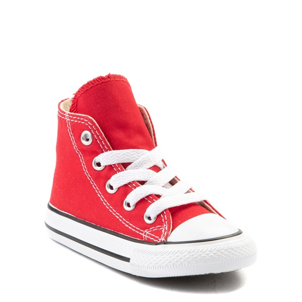 alternate view Converse Chuck Taylor All Star Hi Sneaker - Baby / Toddler - RedALT1B
