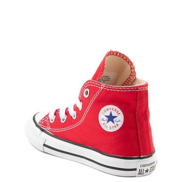 alternate view Converse Chuck Taylor All Star Hi Sneaker - Baby / Toddler - RedALT2