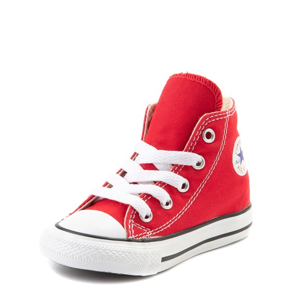 alternate view Converse Chuck Taylor All Star Hi Sneaker - Baby / Toddler - RedALT3