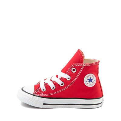 Alternate view of Converse Chuck Taylor All Star Hi Sneaker - Baby / Toddler - Red