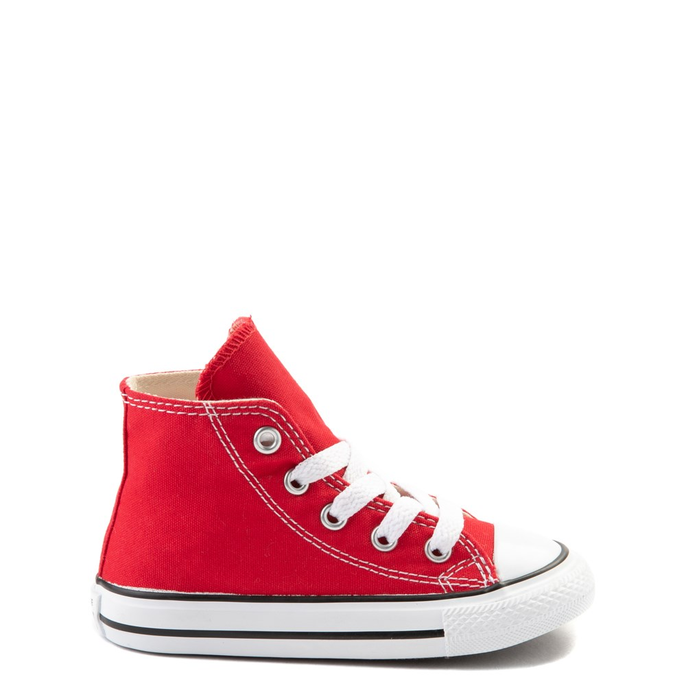 Converse Chuck Taylor All Star Hi Sneaker - Baby / Toddler - Red