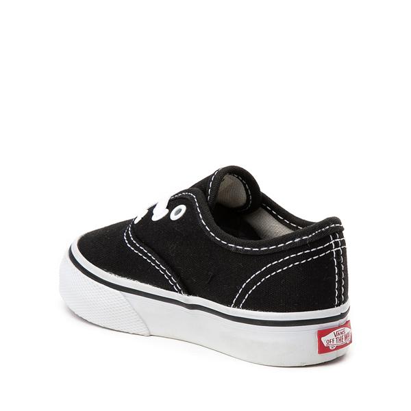 alternate view Vans Authentic Skate Shoe - Baby / Toddler - BlackALT1