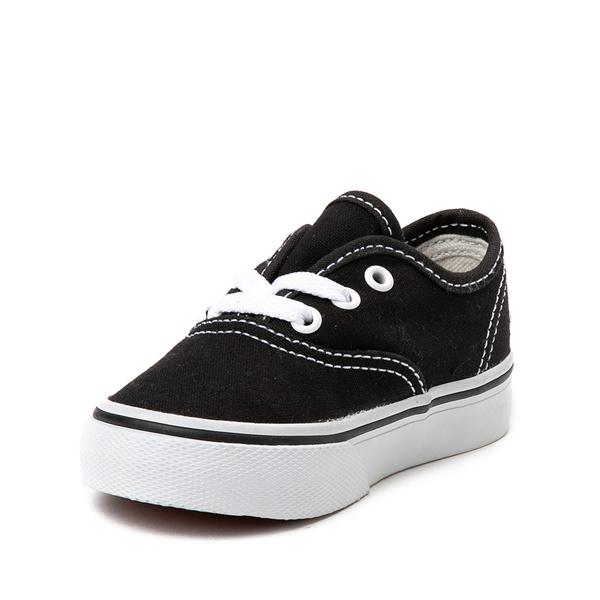 alternate view Vans Authentic Skate Shoe - Baby / Toddler - BlackALT2