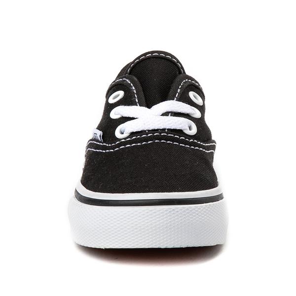 alternate view Vans Authentic Skate Shoe - Baby / Toddler - BlackALT4