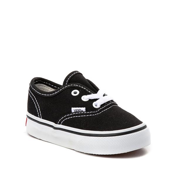 alternate view Vans Authentic Skate Shoe - Baby / Toddler - BlackALT5