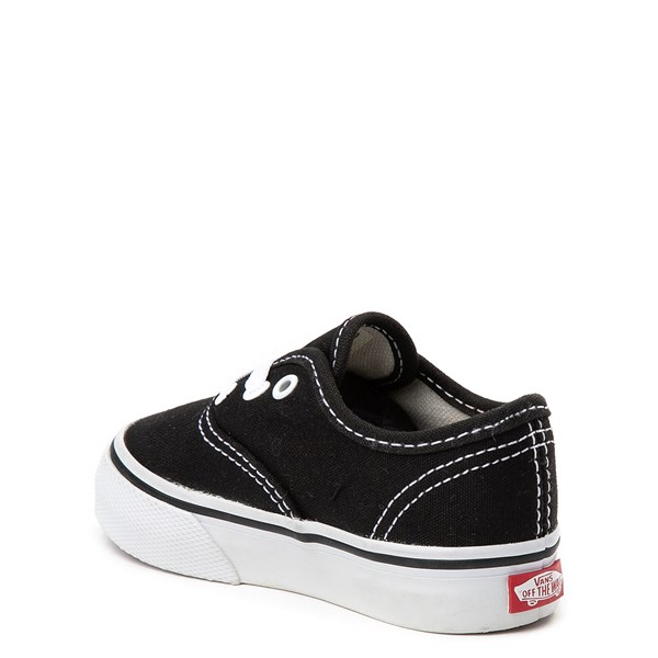alternate view Vans Authentic Skate Shoe - Baby / Toddler - BlackALT2